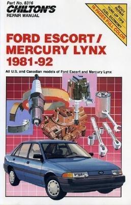 Chilton's Repair Manual: Ford Escort/Mercury Lynx 1981-92