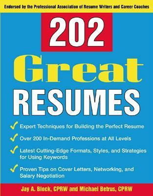 202 Great Resumes Descarga gratuita de la revista Ebook