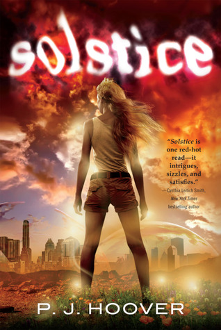 solstice by p j hoover rh goodreads com Tricia Hoover PJ Hoover Book