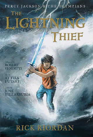 The Lightning Thief: The Graphic Novel Book Cover