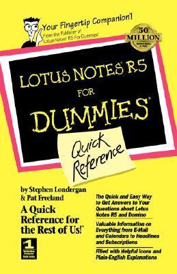 Lotus Notes 5 for Dummies Quick Ref