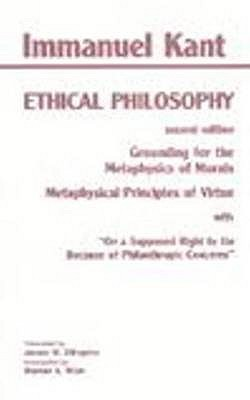 Grounding for the Metaphysics of Morals/Metaphysical Principles of Virtue