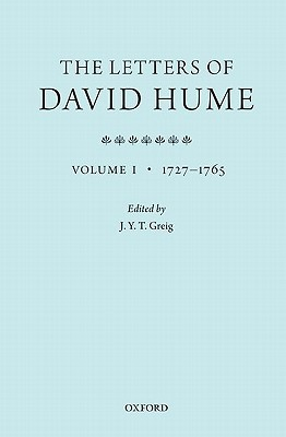 The Letters of David Hume: Volume 1