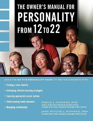 The Owner's Manual for Personality from 12 to 22