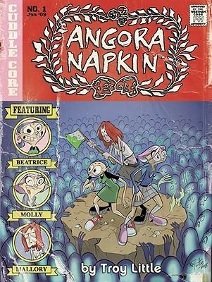 Angora Napkin by Troy Little