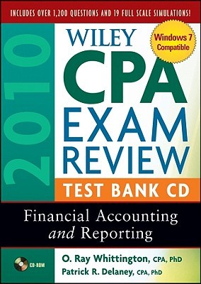 Wiley Cpa Exam Review 2010 Test Bank Cd   Financial Accounting And Reporting