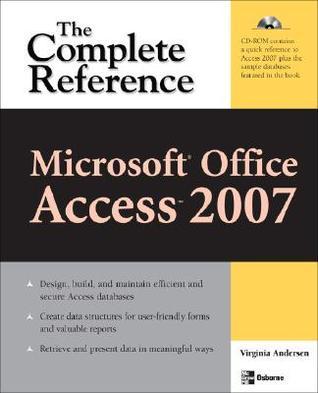 Ms Access 2007 Book