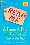 Read Me: A Poem A Day For The National Year Of Reading