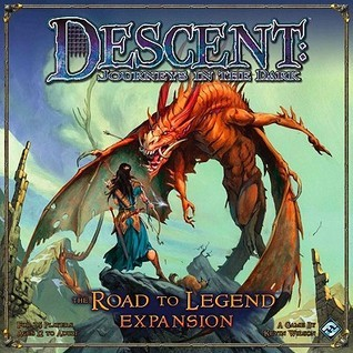 Descent: Journeys in the Dark: The Road to Legend Expansion [With Game Pieces and Gameboard]