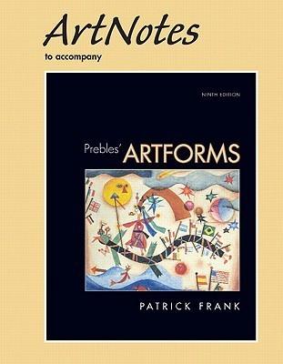 ArtNotes for Artforms for Prebles' Artforms