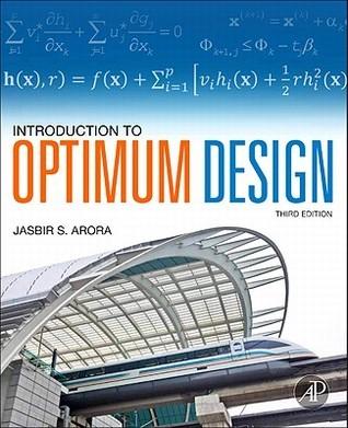 Introduction to Optimum Design, Third Edition