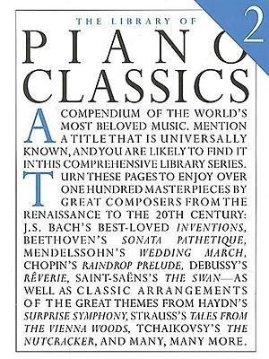 Library of Piano Classics 2: Piano Solo
