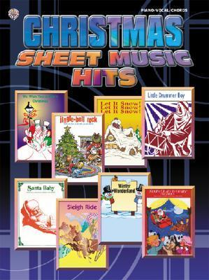 Christmas Sheet Music Hits: Piano/Vocal/Chords