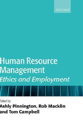 Human Resource Management: Ethics and Employment