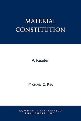 Material Constitution: A Reader
