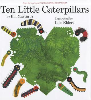 Book Review: Bill Martin, Jr's Ten Little Caterpillars