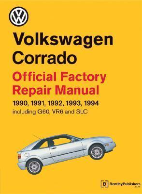 Volkswagen Corrado Official Factory Repair Manual: 1990-1994