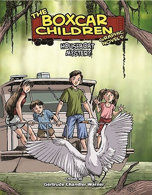 Houseboat Mystery (The Boxcar Children Graphic Novels, #16)