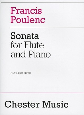 Francis Poulenc: Sonata For Flute And Piano
