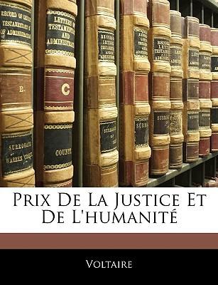Prix de la justice et de l'humanité