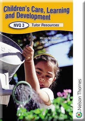 Children's Care, Learning And Development Nvq: Tutor Support Cd Level 3