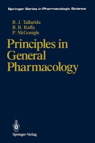 Principles in General Pharmacology