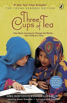 Three Cups of Tea by Sarah L. Thomson