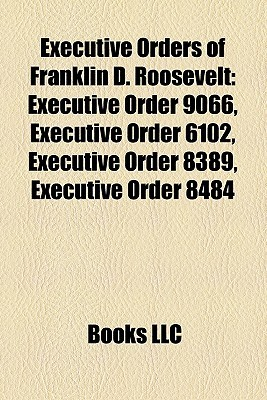 Executive Orders of Franklin D. Roosevelt