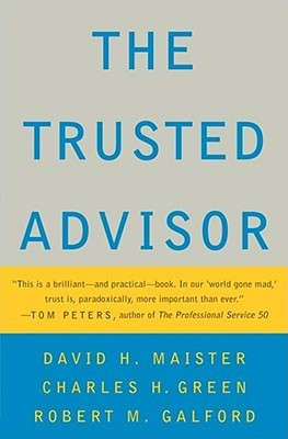 The trusted advisor by david h maister fandeluxe PDF