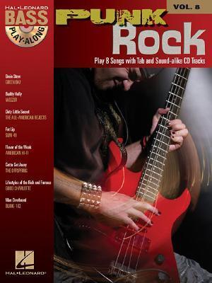 Punk Rock Bass Play-Along, Vol. 8