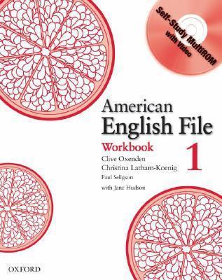 American English File 1 Workbook: With Multi-ROM