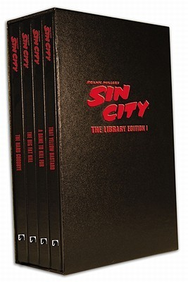 Frank Miller's Sin City: The Library Edition, Set I (Frank Miller's Sin City, #1-4)