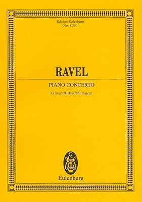 Maurice Ravel: Piano Concerto G Major/G-Dur/Sol Majeur