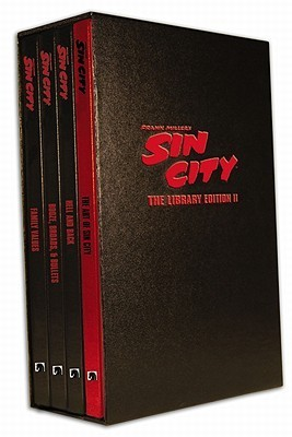 Frank Miller's Sin City: The Library Edition, Set II (Frank Miller's Sin City, #5-7 + Artbook)