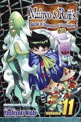 Muhyo & Roji's Bureau of Supernatural Investigation, Vol. 11 by Yoshiyuki Nishi