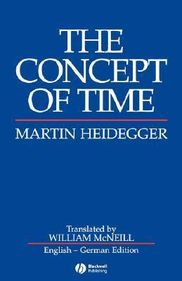 The Concept of Time by Martin Heidegger