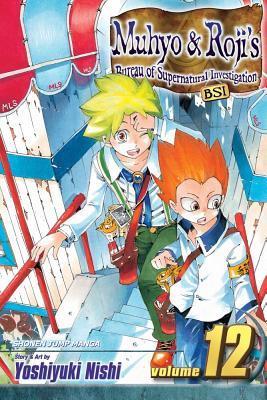 Muhyo & Roji's Bureau of Supernatural Investigation, Vol. 12 by Yoshiyuki Nishi