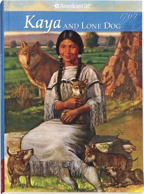 Kaya and Lone Dog by Janet Beeler Shaw