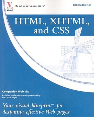 Html xhtml and css your visual blueprint for designing 2549666 malvernweather Images