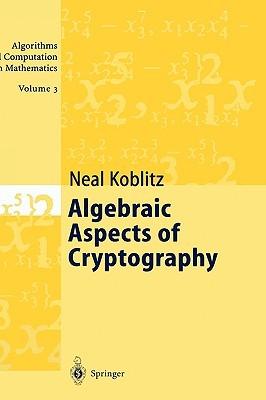 Algebraic Aspects of Cryptography Descargas gratuitas de libros electrónicos para ibook