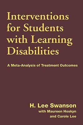 Interventions for Students with Learning Disabilities: A Meta-Analysis of Treatment Outcomes