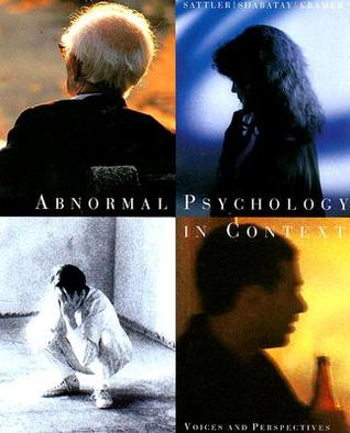 psy410 historical perspectives in abnormal psychology Chapter contemporary perspectives on abnormal behavior chapter outline the biological perspective 38–44 the nervous system evaluating biological perspectives on abnormal behavior.
