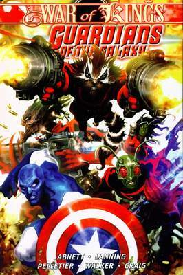 Guardians of The Galaxy, Volume 2: War of Kings, Book 1
