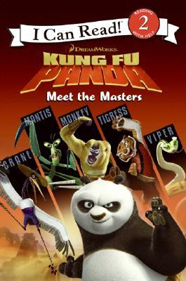 Meet the Masters (Kung Fu Panda: I Can Read, Level 2)