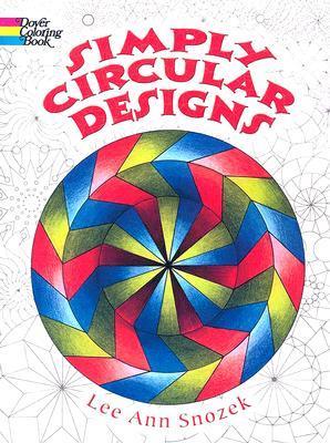 Simply Circular Designs Coloring Book