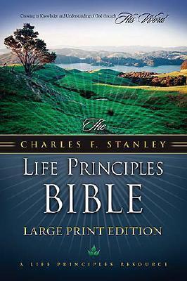 Charles f. stanley life principles bible-nkjv-large print by Charles F. Stanley