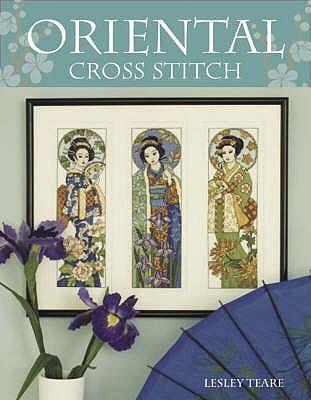 Oriental Cross Stitch by Lesley Teare