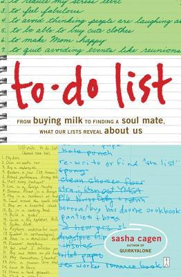 To-Do List by Sasha Cagen