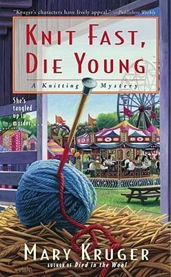Knitting Fiction Literature Shelf