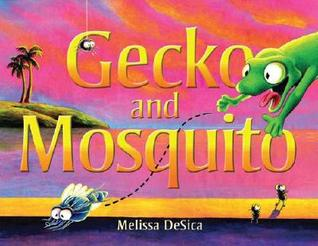 Gecko and Mosquito by Melissa Desica
